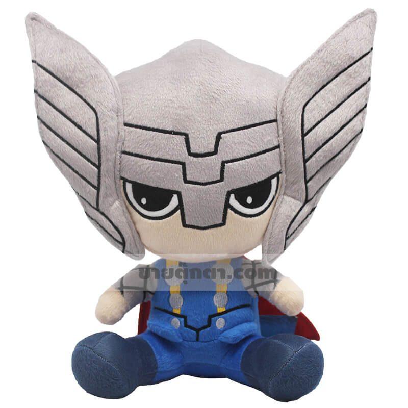ตุ๊กตาธอร์คิวตี้จากเรื่องอเวนเจอร์ส Thor Cutie Avenger ของค่าย มาร์เวล Marvel
