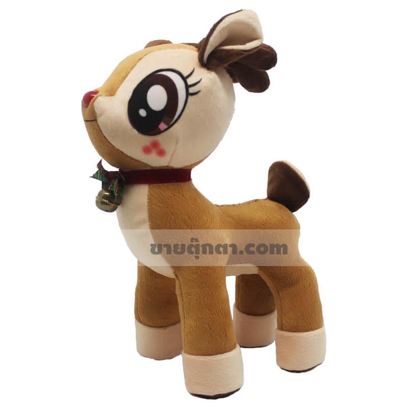 ตุ๊กตากวางเรนเดียร์ ตุ๊กตาคริสต์มาส ตุ๊กตา Reindeer ตุ๊กตา Christmas