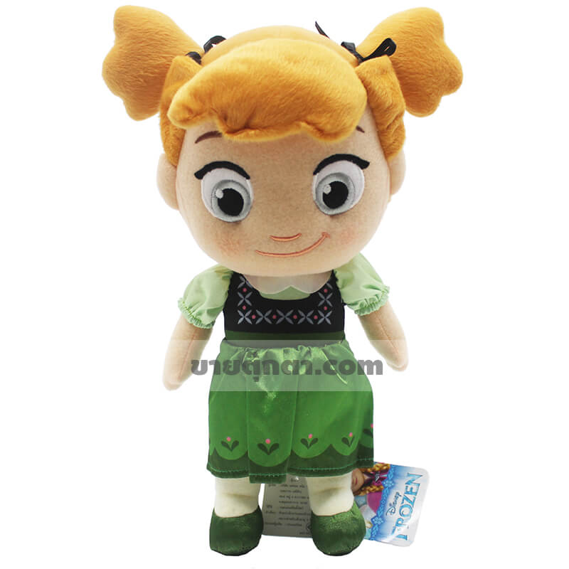 ตุ๊กตาแอนนา โฟรเซน (Anna Frozen) วัยเด็ก จากเรื่องผจญภัยแดนคำสาปราชินีหิมะ Frozen
