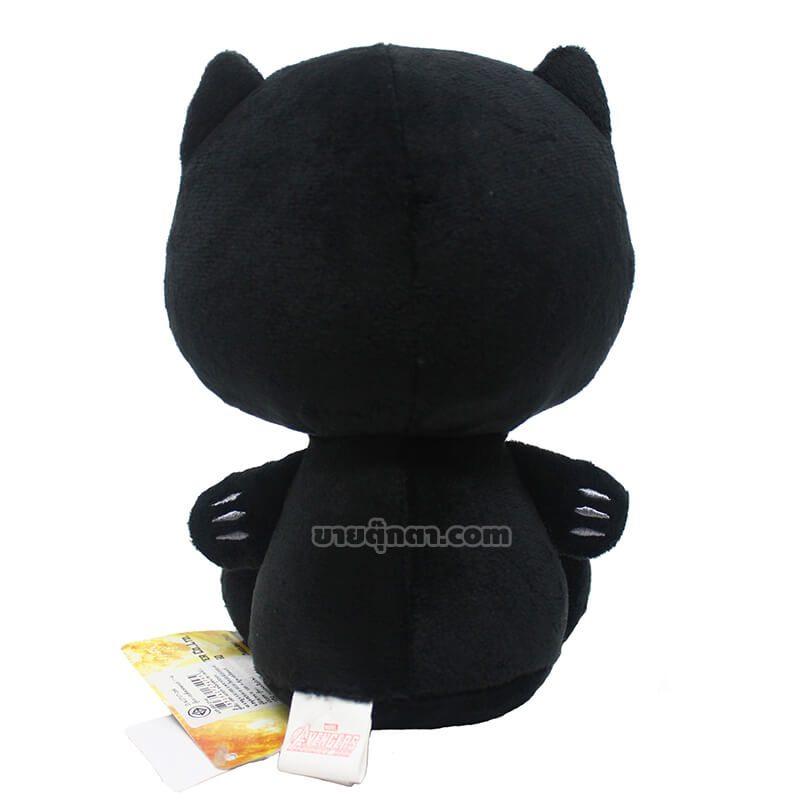 ตุ๊กตา แบล็คแพนเทอร์ / Black Panther จากเรื่องอเวนเจอร์ส Avenger ของค่าย มาร์เวล Marvel