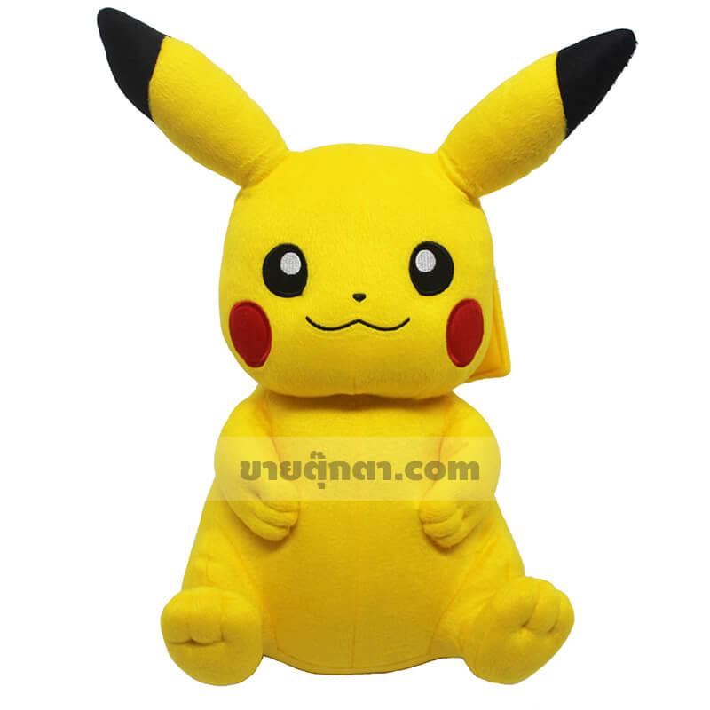 ตุ๊กตา ปิกาจู ท่านั่ง / Pikachu จากเรื่องโปเกม่อน Pokemon