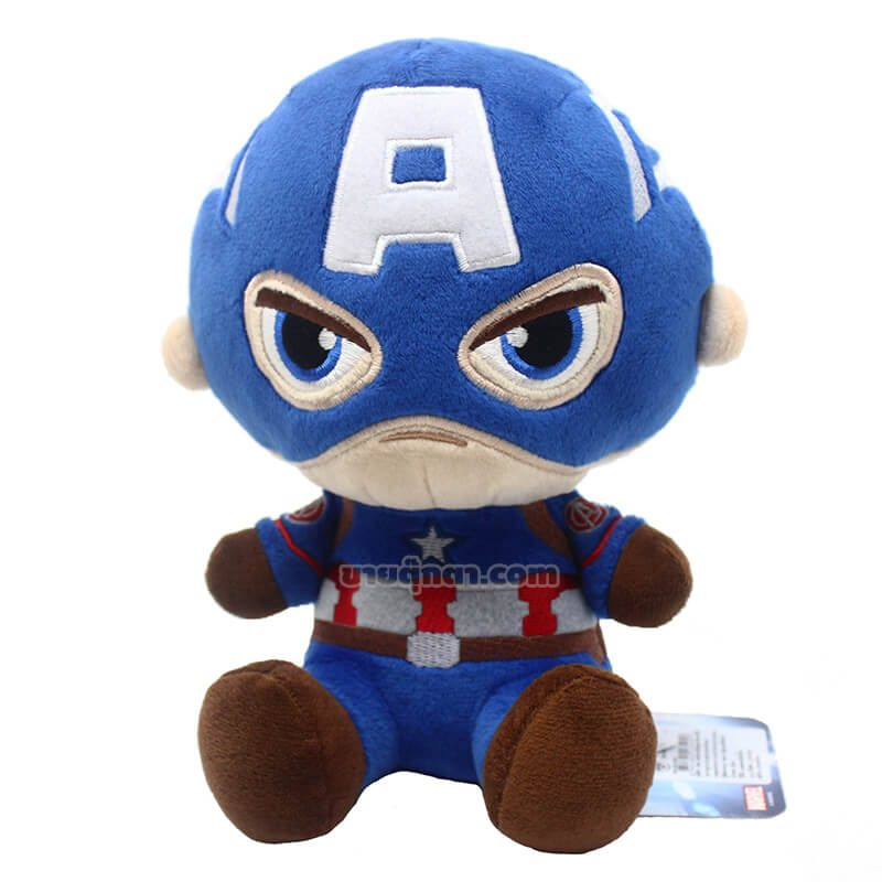 ตุ๊กตา กัปตันอเมริกา / Captain America จากเรื่องอเวนเจอร์ส Avenger Endgame ของค่าย มาร์เวล Marvel