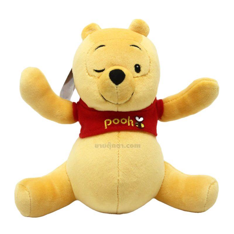 ตุ๊กตา หมีพูห์ / Pooh Sleepy Smile จากเรื่องวินนี่เดอะพูห์ Winnie the pooh ของค่าย ดิสนีย์ Disney