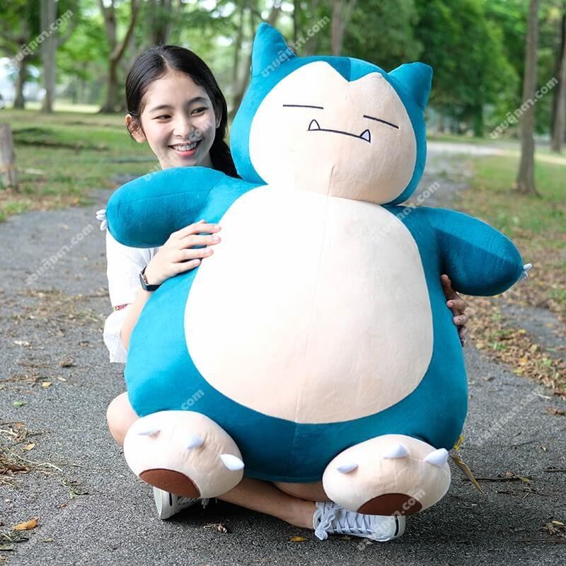 ตุ๊กตาคาบิก้อนจากเรื่องโปเกม่อน Kabigon Snorlax Pokemon
