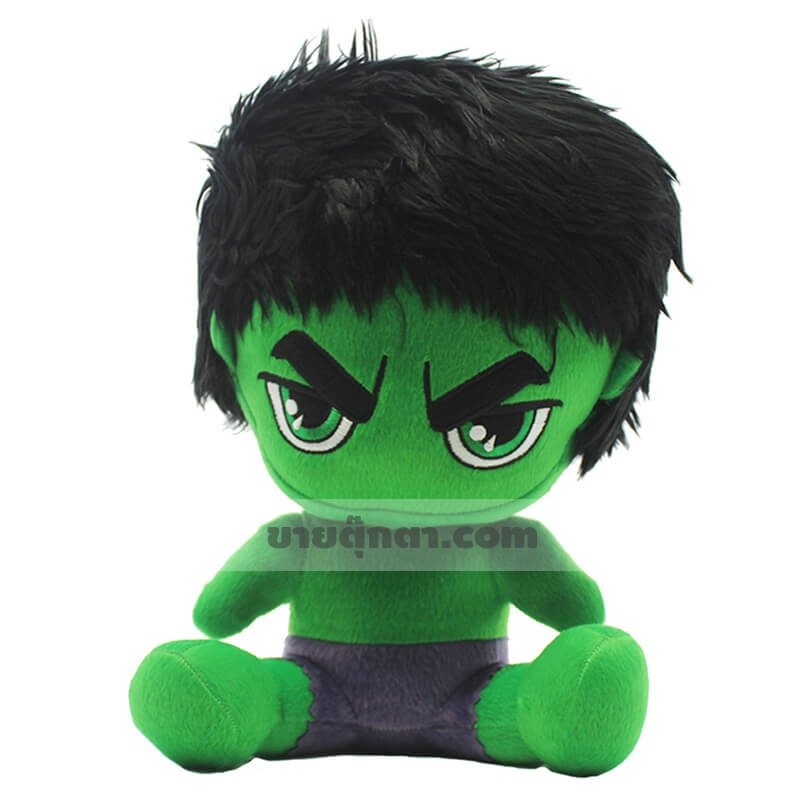 ตุ๊กตาฮัคคิวตี้จากเรื่องอเวนเจอร์ส Hulk Cutie Avenger ของค่าย มาร์เวล Marvel