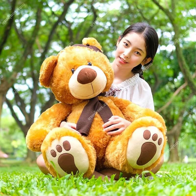ตุ๊กตาหมีผู้ดี ตุ๊กตาหมีตัวใหญ่ ตุ๊กตาหมีน่ารัก