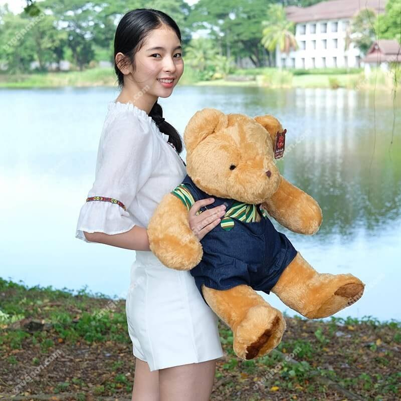 ตุ๊กตาหมีคู่รักชาย ตุ๊กตาหมีตัวใหญ่ ตุ๊กตาหมีน่ารัก