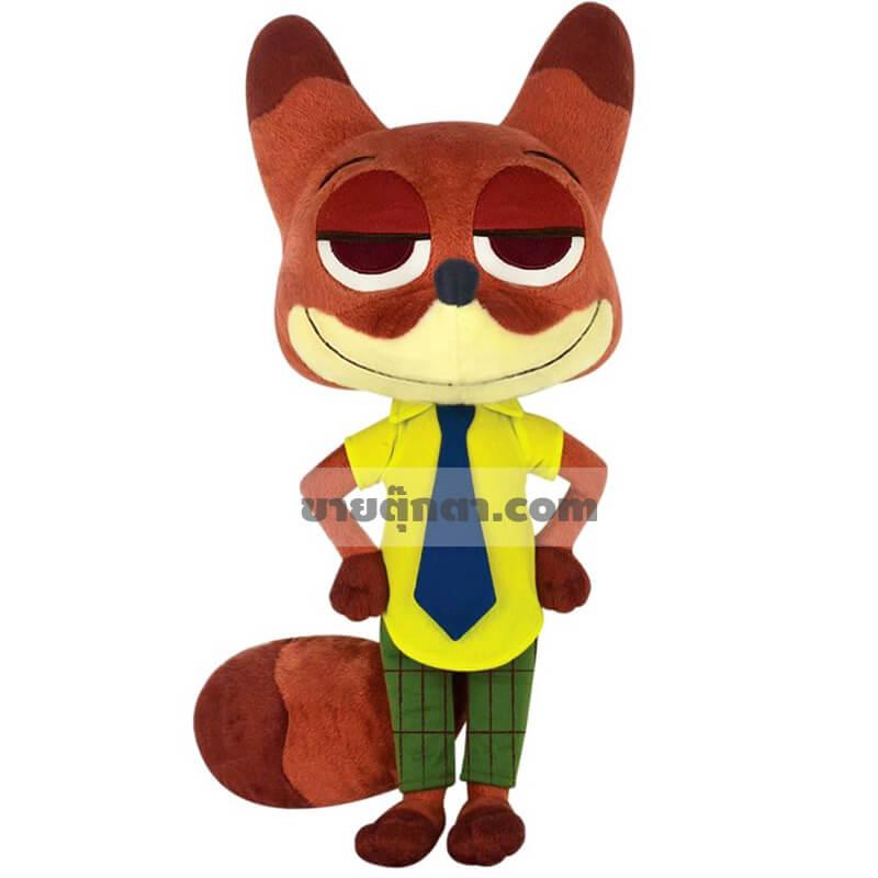 ตุ๊กตา นิค ไวลด์ / Nick Wilde จากเรื่องซูโทเปีย Zootopia ของค่าย ดิสนีย์ Disney