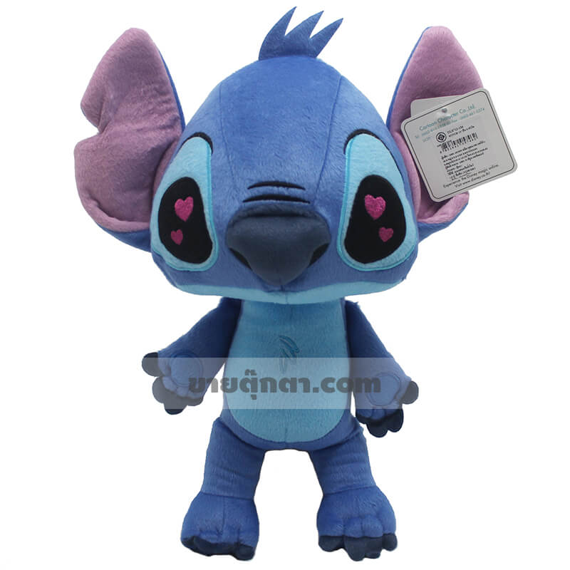 ตุ๊กตา สติทซ์ ตาหัวใจ / Stitch in Love จากเรื่อง ลีโล่ แอนด์ สติทซ์ ของค่าย ดิสนีย์ Disney