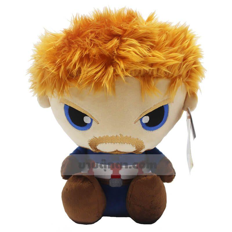 ตุ๊กตากัปตันอเมริกา จากเรื่องอเวนเจอร์ส Captain America Avenger ของค่าย มาร์เวล Marvel