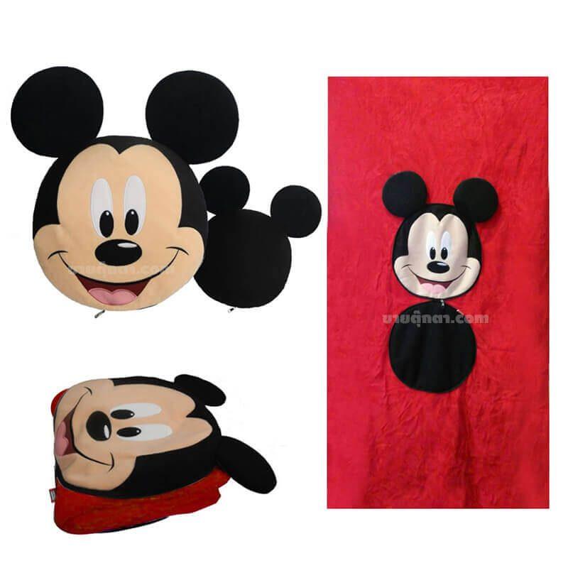 หมอนผ้าห่ม มิกกี้เมาส์ / Micky Mouse Pillow and Blanket ของค่าย ดิสนีย์ Disney