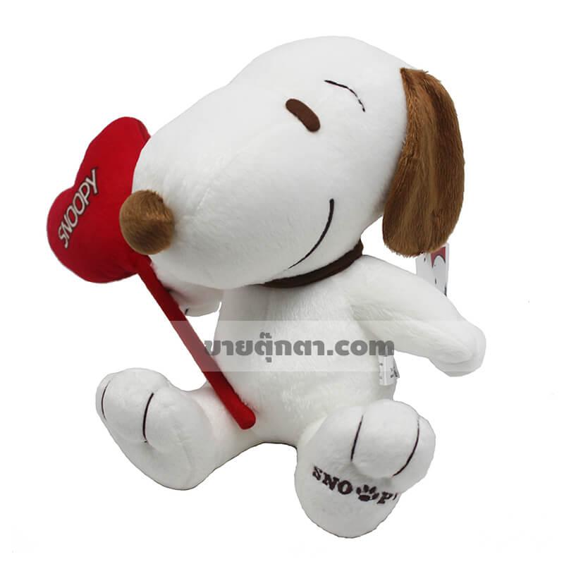 ตุ๊กตาสนูปปี้ Snoopy Valentine ของค่าย ดิสนีย์ Disney