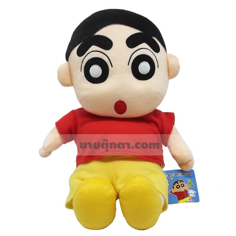 ตุ๊กตา ชินจัง / Shin-Chan Plush Toy จากเรื่อง ชินจังจอมแก่น