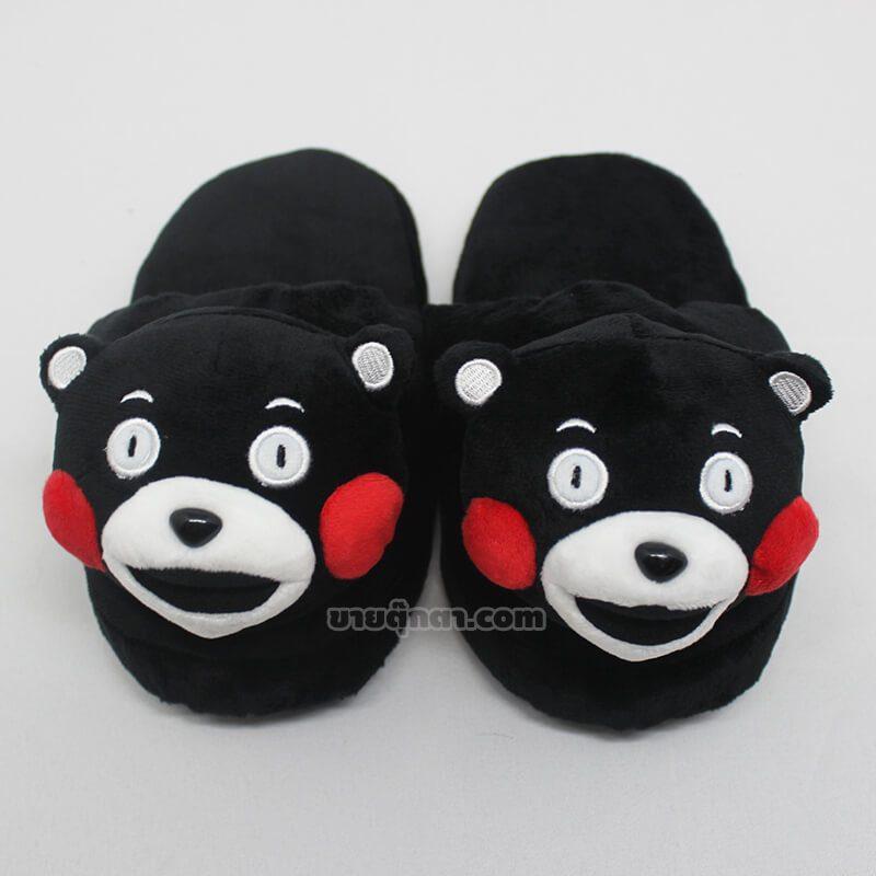 รองเท้าใส่ในบ้าน คุมะมง / Kumamon Slipper จากมาสคอตจังหวัดคุมะโมะโตะ