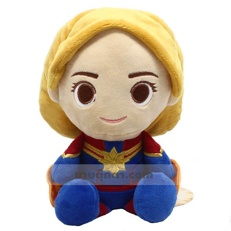 ตุ๊กตา กัปตัน มาร์เวล จากเรื่องอเวนเจอร์ส Captain Marvel Avenger ของค่าย มาร์เวล Marvel