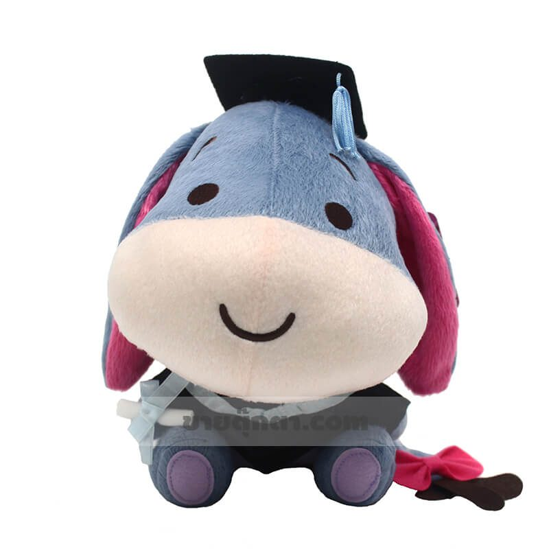 ตุ๊กตา หมีพูห์ คิวตี้ รับปริญญา / Winnie the pooh Cutie จากเรื่องวินนี่เดอะพูห์ ของค่าย ดิสนีย์ Disney
