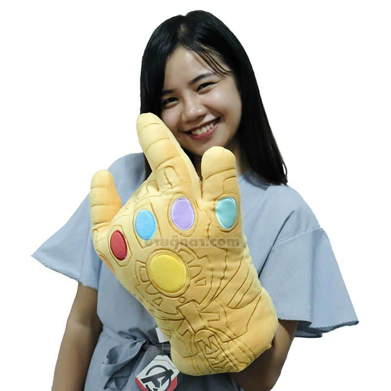 หมอนสวมมือ ทานอส / Infinity Gauntlet จากเรื่องอเวนเจอร์ส เผด็จศึก Avenger Endgame ของค่าย มาร์เวล Marvel