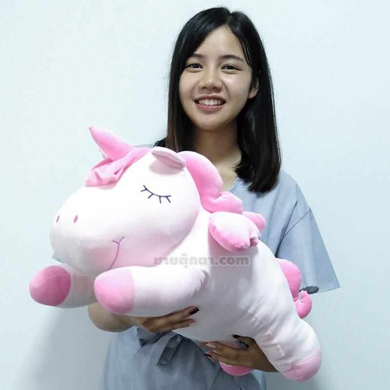 ตุ๊กตา ยูนิคอร์น พาสเทล / Unicorn Pastel Plush Toy