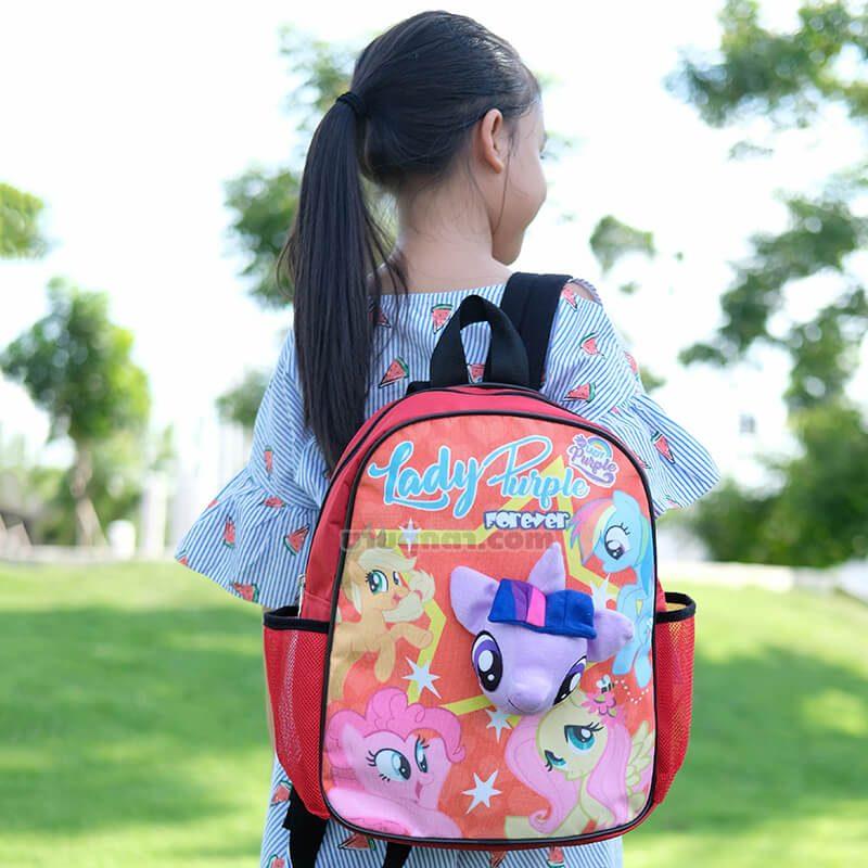 กระเป๋าเป้ โพนี่ Pony รุ่นพาสเทล / Pony Star Bag จากเรื่องมายลิตเติ้ลโพนี่ Rarity My Little Pony