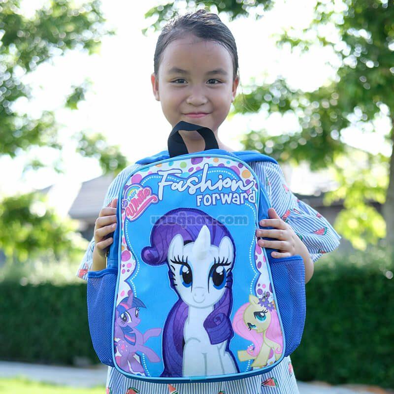 กระเป๋าเป้ โพนี่ Pony รุ่นพาสเทล / Fashion Bag จากเรื่องมายลิตเติ้ลโพนี่ Rarity My Little Pony