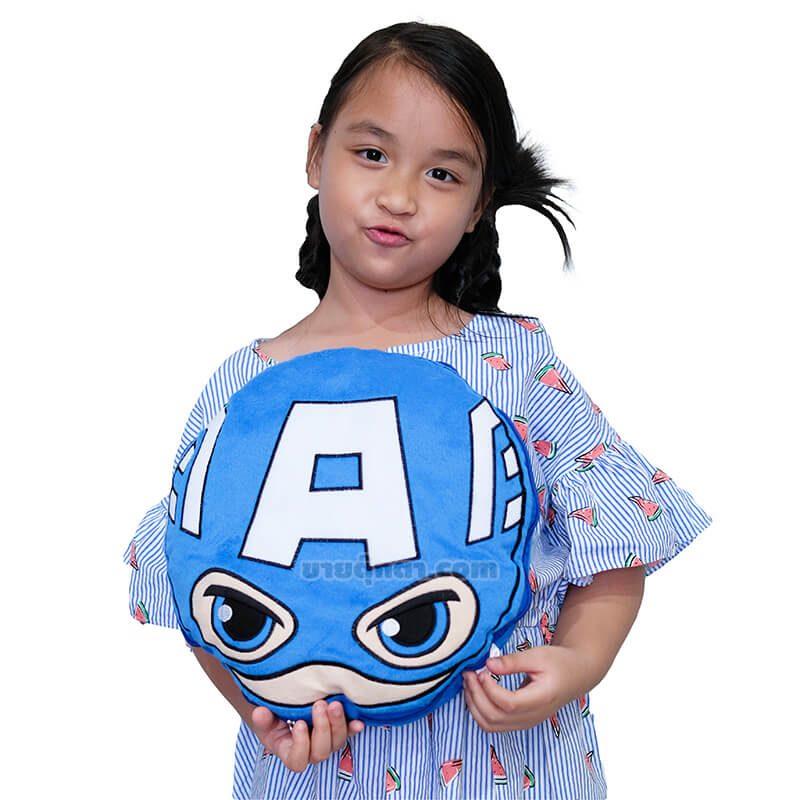 หมอนผ้าห่ม กัปตันอเมริกา / Captain America จากเรื่องอเวนเจอร์ส Avenger Endgame ของค่าย มาร์เวล Marvel
