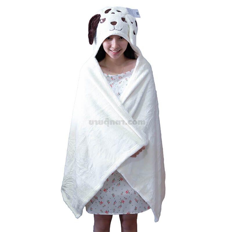 ผ้าห่มฮู้ด สุนัขฟาส / Fast Dog