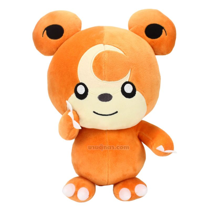 ตุ๊กตา ฮิเมกุมะ / Teddiursa หมีพระจันทร์ Himeguma จากเรื่องโปเกม่อน Pokemon