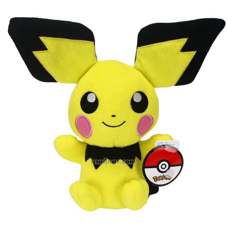 ตุ๊กตา ปิจู / Pichu พิชู จากเรื่องโปเกม่อน Pokemon