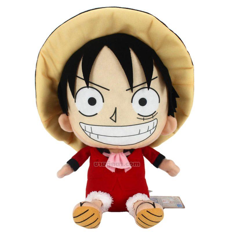 ตุ๊กตา ลูฟี่ วันพีช / Luffy Red Suit Onepiece