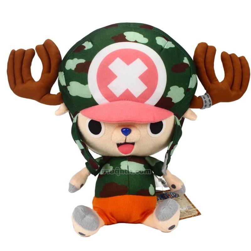 ตุ๊กตา ช็อปเปอร์ ชุดทหาร จากเรื่องวันพีช Onepiece